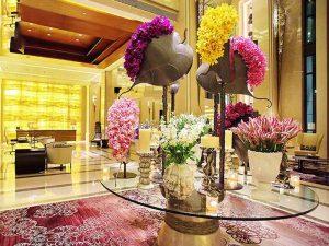 Arranging-flowers